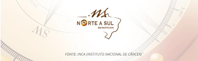 NS BENEFÍCIOS. Fonte: INCA (Instituto Nacional do Câncer)